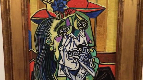 the weeping woman, Picasso, pablo picasso