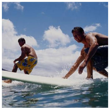 Private surf lesson from Cloud 9 Living