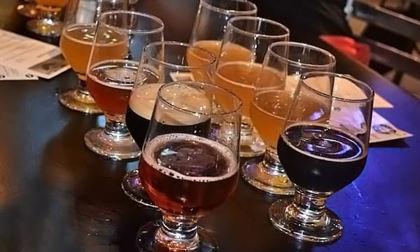 Brewery tour on Groupon