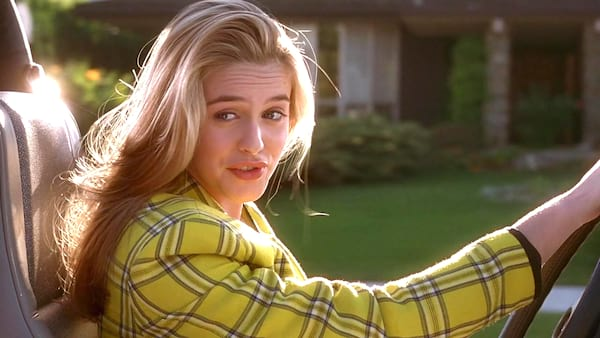 clueless, movie, driving, drive, traffic, cars, car, cher, travel