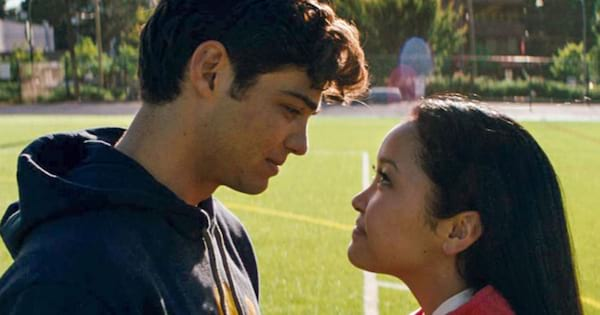 Lara Jean and Peter in the Netflix movie \To all the boys I've loved before\