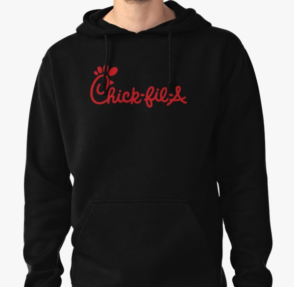 Chick-fil-A hoodie from Redbubble