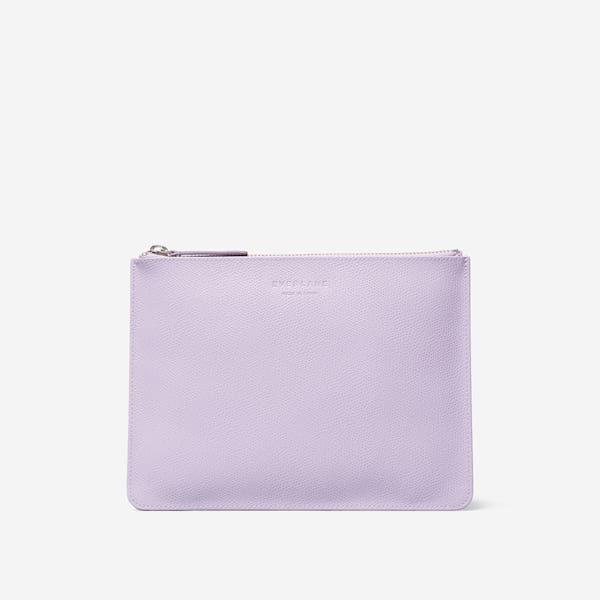 The Leather Zip Pouch from Everlane