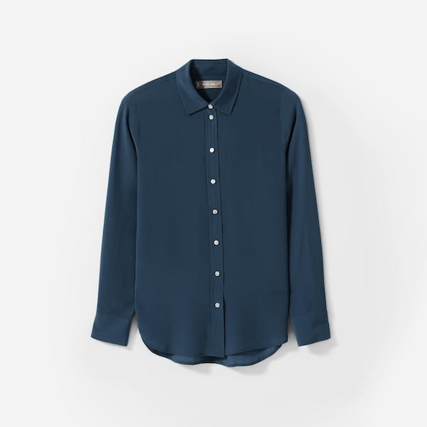 The Clean Silk Relaxed Shirt from Everlane