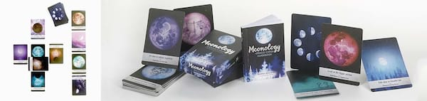 Oracle Decks For Beginners, two images of the Moonology Oracle Cards, culture