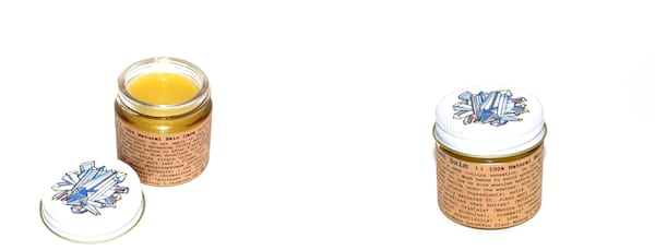 Natural Pain Management, two images of Plant Makeup Frost Balm, health