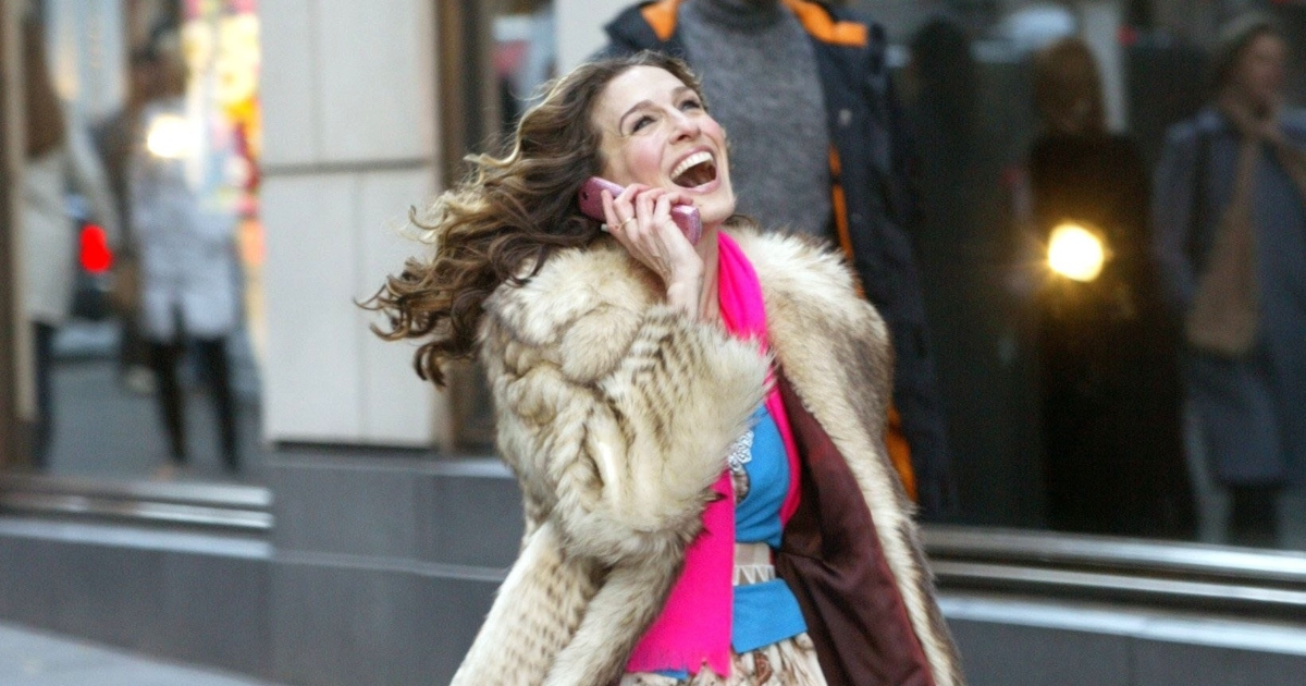 Sarah Jessica Parker in the show Sex and The City