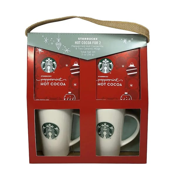 Starbucks Cocoa for Two Tote Box from Walgreens