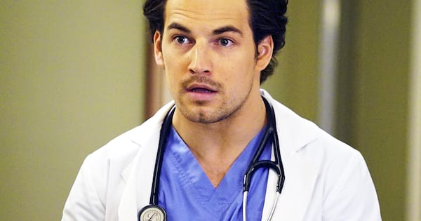 giacomo gianniotti from grey's anatomy surprised, meredith and deluca relationship