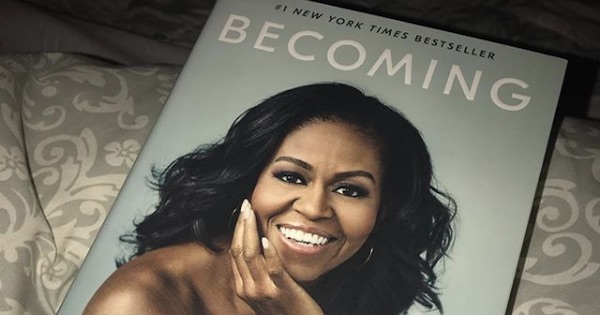 becoming by michelle obama book