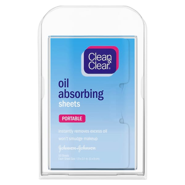 Clean & Clear Oil Absorbing Facial Blotting Sheets