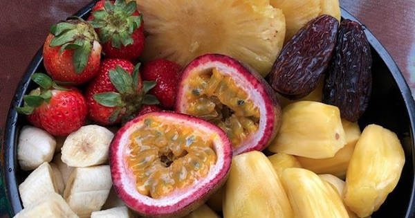 assorted fruits in a bowl, New Years