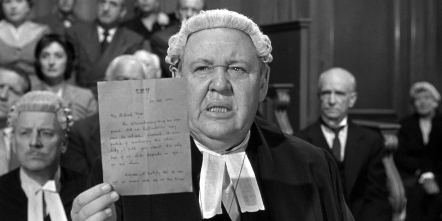 movies, witness for the prosecution