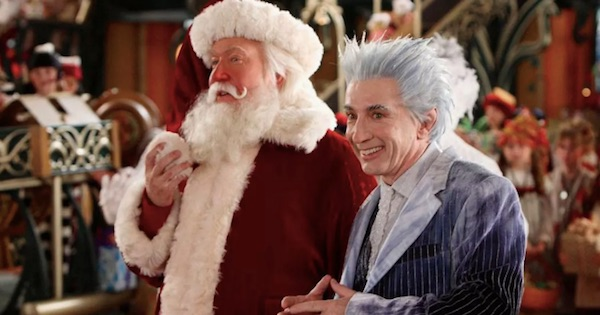 santa clause and jack frost, disney movies