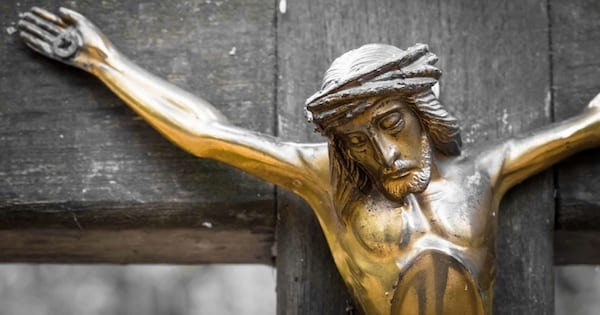 jesus crucified on the cross, hymn religion