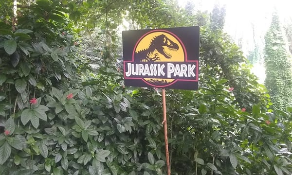 Jurassic Park trail tour from Groupon