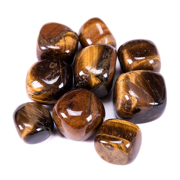 Tiger's Eye crystals from Amazon