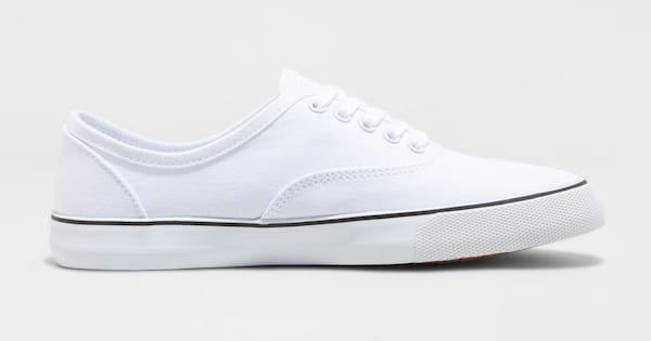 Buried in These $17 White Sneakers