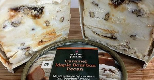 archer farms ice cream container cut open, target