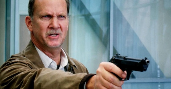 michael o'neill holding up gun on grey's anatomy as guest star