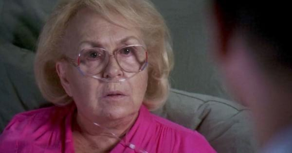 doris roberts guest starring as a patient on grey's anatomy