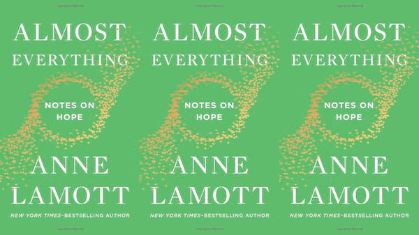health, books, Almost Everything by Anne Lamott, Self Care For the New Year