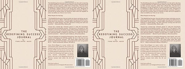 health, books, The Redefining Success Journal by Vyana Novus-Magee, Self Care Books For the New Year