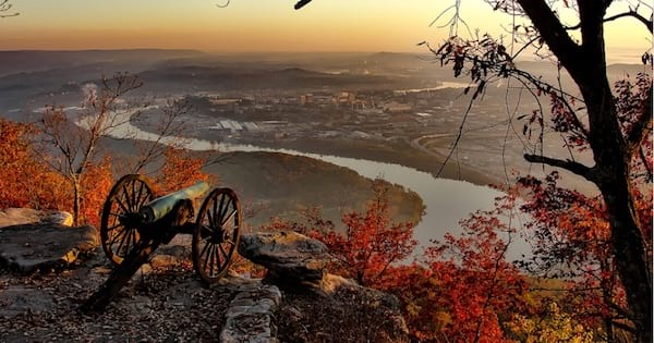 chattanooga tennessee city view