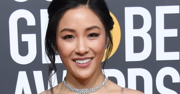Constance Wu at the 2019 Golden Globe Awards