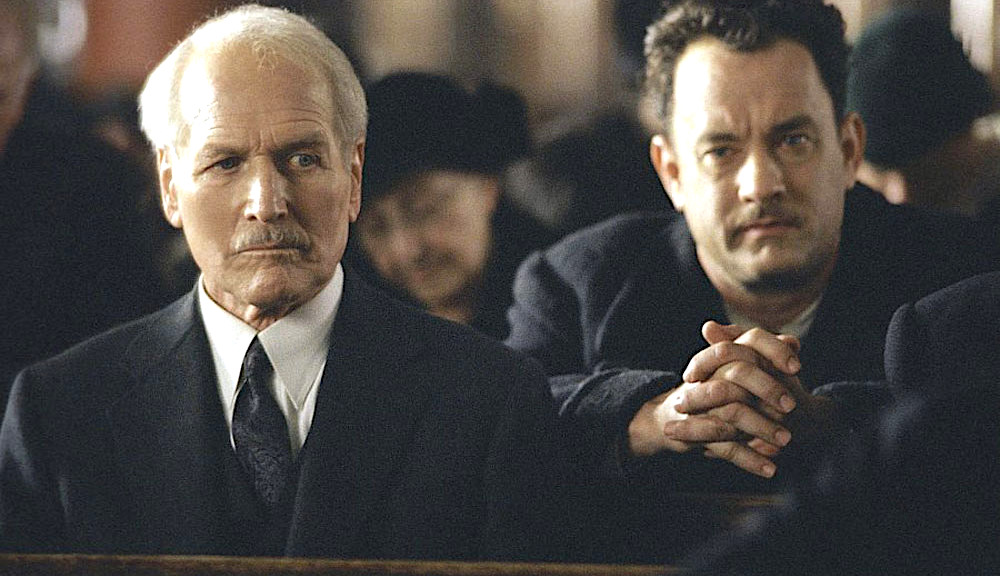 movies, celebs, Road to Perdition, 2002, paul newman, tom hanks