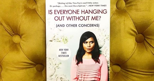 mindy kaling's is everyone hanging out with me (and other concerns) book, celebs