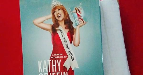 kath griffin's official book club selection book, celebs