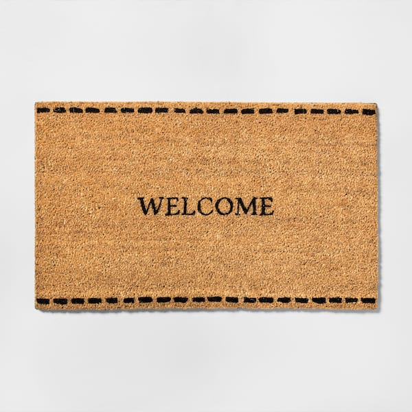 Welcome mat from Target