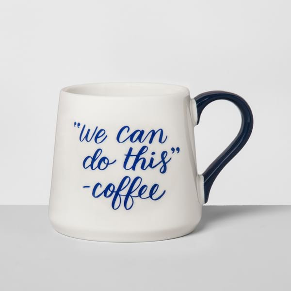 'We Can Do This' coffee mug from Target