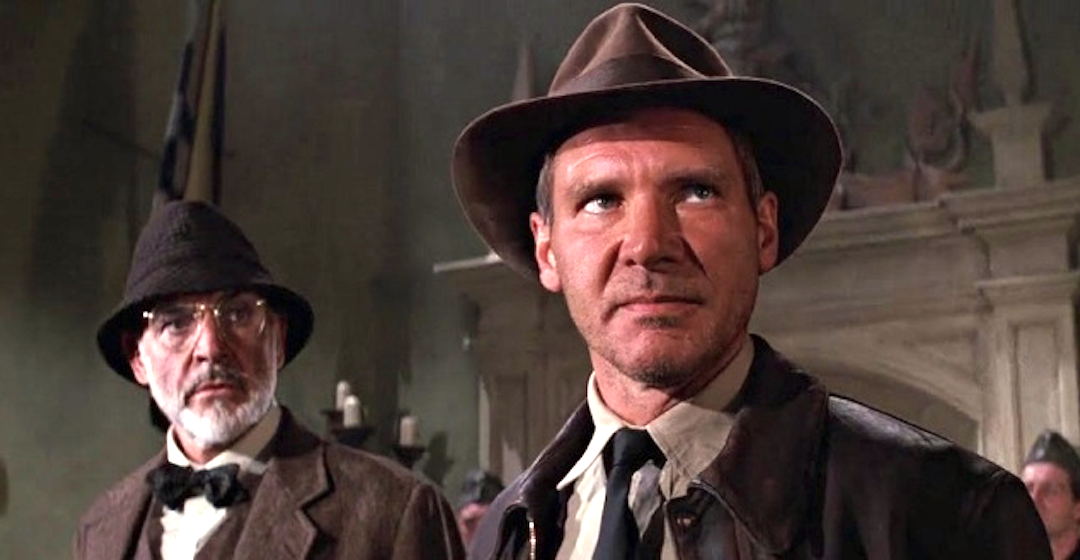 movies, celebs, indiana jones and the last crusade, 1989, harrison ford, Sean Connery