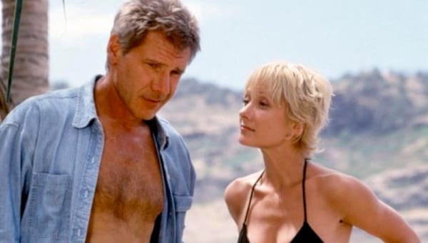 movies, celebs, six days seven nights, 1998, harrison ford, anne heche