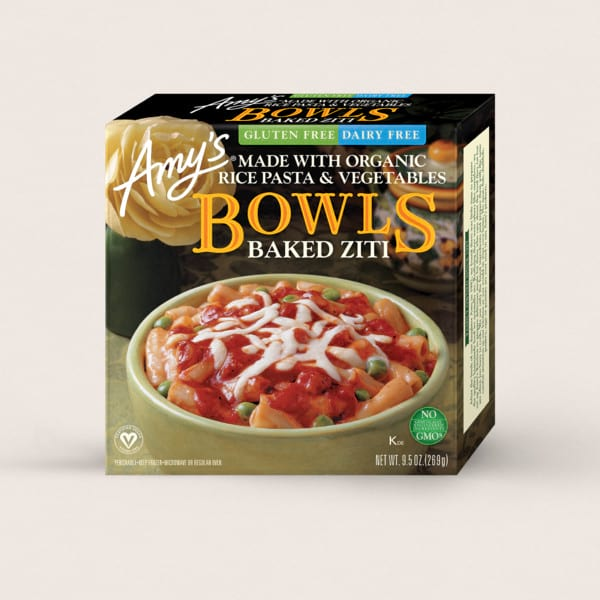 Baked Ziti Bowl from Amy's Kitchen