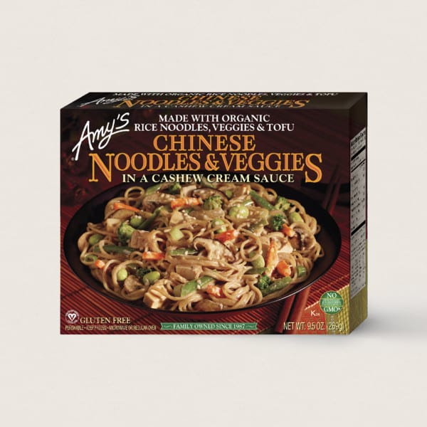 Chinese Noodles & Veggies from Amy's Kitchen