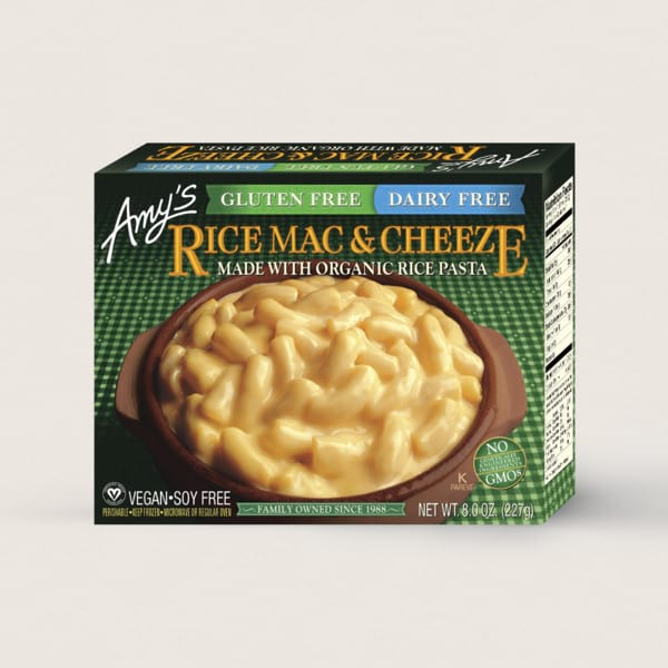 Rice Mac & Cheeze from Amy's Kitchen