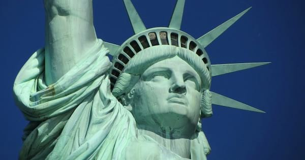 statue of liberty in new york city, vacation
