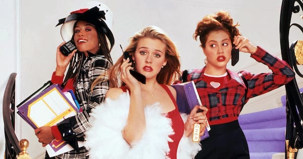 Rom-Com Quote Instagram Captions, the movie poster for Clueless, movies, relationships