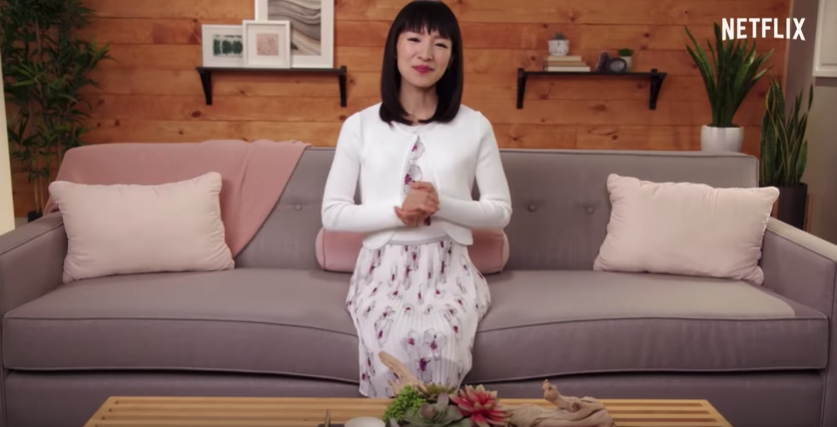 tidying up, Marie Kondo, Netflix