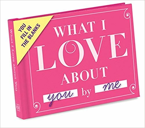 'What I Love About You' journal from Amazon
