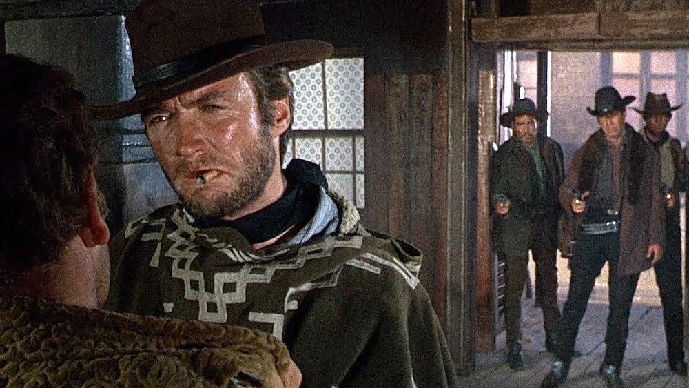 movies, celebs, for a few dollars more, 1965, Clint Eastwood
