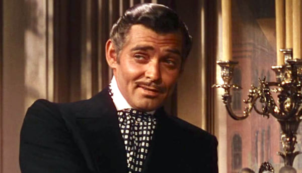 movies, celebs, gone with the wind, 1939, clark gable as captain rhett butler, AMC