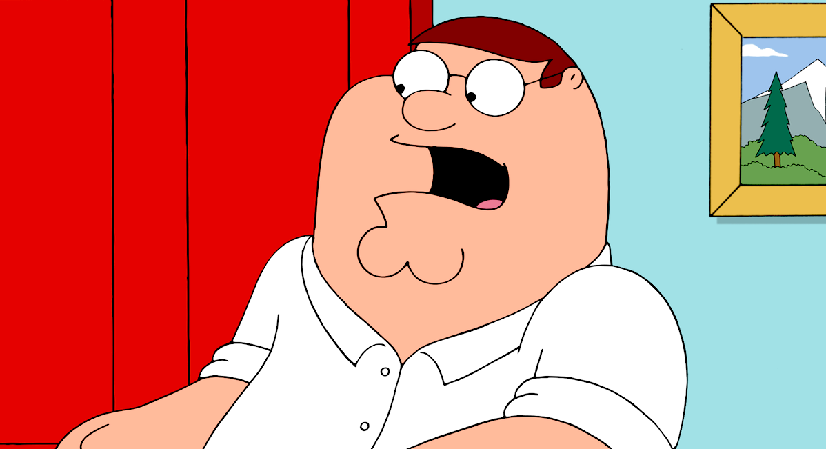 tv, family guy, peter griffin