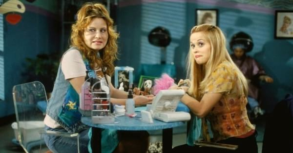 Scene from the movie Legally Blonde.