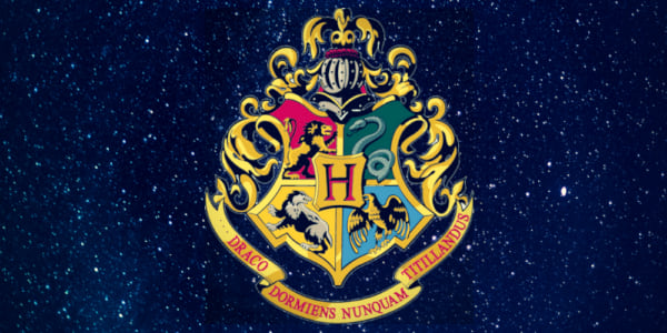 pinterest, question image, harry potter, hogwarts crest