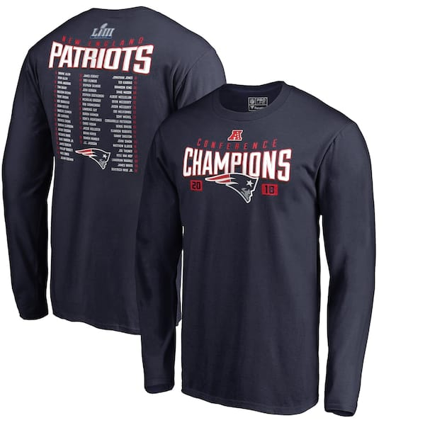 New England Patriots Long Sleeve T-Shirt from NFL Shop