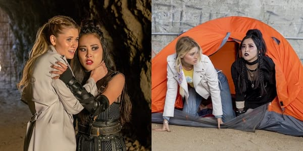 Best Lesbian and Bi Characters On TV, two photos of Nico and Karolina from Runaways, tv, pop culture